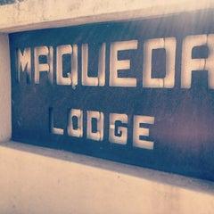 Photo taken at Maqueda Lodge Marloth Park by GlynnЯyan on 8/3/2013