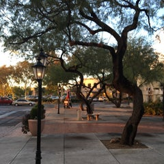 Photo taken at St. Philip's Plaza by Gary M. on 10/31/2015