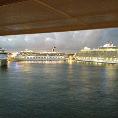 Photo taken at Port Everglades by James R. on 1/6/2013