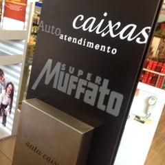 Photo taken at Super Muffato by João Paulo P. on 3/30/2014