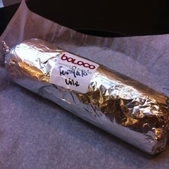 Photo taken at Boloco by Jeff V. on 11/21/2012