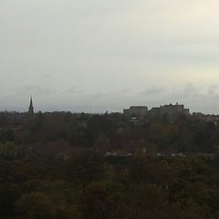Photo taken at Blackford Hill by John V. on 10/26/2014