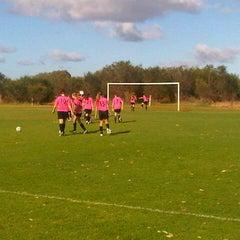Photo taken at Armadale Soccer Club (Alfred Skeet) by David C. on 10/6/2012
