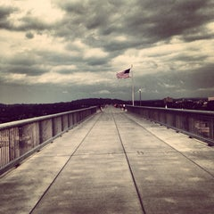 Photo taken at Walkway Over the Hudson State Historic Park by Silent A. on 6/25/2013