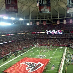 Photo taken at Georgia Dome by Harold A. on 9/30/2013