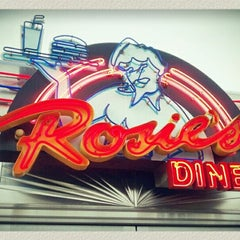 Photo taken at Rosie's Diner by *Dominic* on 1/31/2013