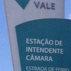 Photo taken at Estação Ferroviária Intendente Câmara (EFVM) by Anderson G. on 1/6/2015