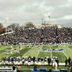 Photo taken at Foreman Field at S.B. Ballard Stadium by Bevan C. on 12/8/2012