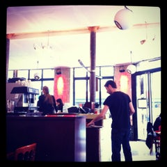 Photo taken at Café du Commerce by Hélène M. on 4/14/2012
