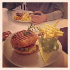 Photo taken at ISHA café restaurant by Karin on 5/13/2014