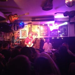 Photo taken at Ain't Nothin But...The Blues Bar by Santiago T. on 10/5/2012