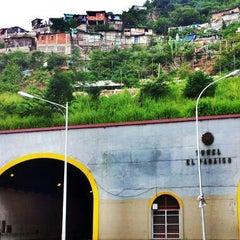 Photo taken at Túnel El Paraíso by Yonis Y. on 10/26/2012