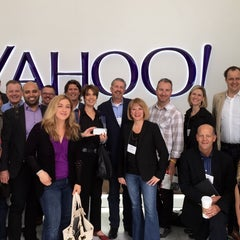 Photo taken at Yahoo! by Nancy L. on 6/11/2015