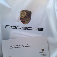 Photo taken at Porsche Showroom by Mohammed A. on 12/3/2014