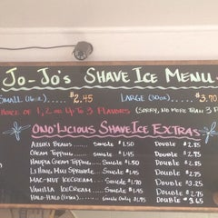 Photo taken at Jo Jo's Shave Ice by Heather D. on 11/7/2015