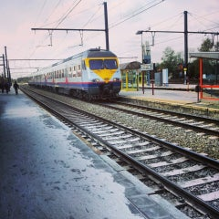 Photo taken at Station Herentals by Hans V. on 4/30/2013