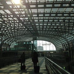 Photo taken at Stazione Torino Porta Susa by Sandra t. on 2/19/2013