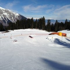 Photo taken at Consorzio Skipass  Paganella by Riccardo P. on 2/19/2013