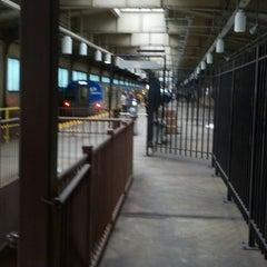 Photo taken at Newark PATH Station by asktonyc A. on 4/17/2013