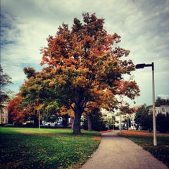 Photo taken at Ronan Park by Michelle P. on 10/17/2012