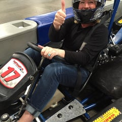 Photo taken at Fastkart Indoor Speedway by Bodhi C. on 9/3/2015