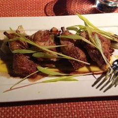 Photo taken at Brix Restaurant and Gardens by Anna F. on 9/28/2012