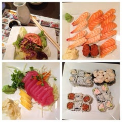 Photo taken at Fusion Sushi by Terri B. on 11/6/2013