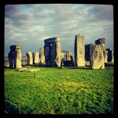 Photo taken at Stonehenge by Yuri C. on 12/12/2012