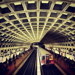 Photo taken at Farragut West Metro Station by Eric S. on 6/15/2013