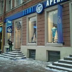 Photo taken at Зенит Арена by Максим М. on 12/9/2012