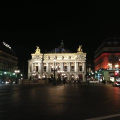 Photo taken at Place de l'Opéra by Saad O. on 1/30/2013
