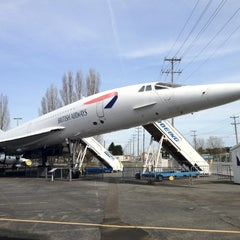 Photo taken at The Museum of Flight by Ye W. on 4/8/2012