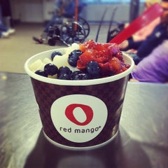 Photo taken at Red Mango by Joy S. on 3/31/2012