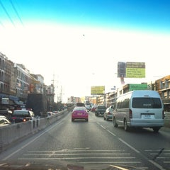 Photo taken at Ngam Wong Wan Road by WuT S. on 3/17/2012