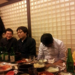 Photo taken at 우리집순두부 무교본점 by mk p. on 2/20/2012
