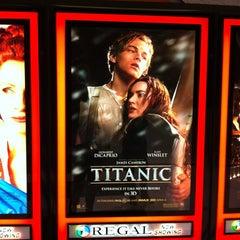 Photo taken at Regal Cinemas Ithaca Mall 14 by Eric Thomas C. on 4/4/2012