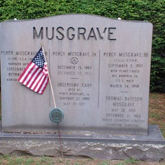 Photo taken at Stockbridge Cemetery by Sean C. on 7/18/2012