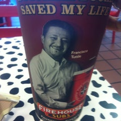 Photo taken at Firehouse Subs by David V. on 3/19/2012