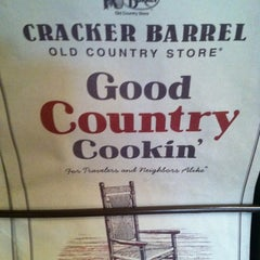 Photo taken at Cracker Barrel Old Country Store by Marcus W. on 7/1/2012