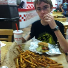 Photo taken at Five Guys by Shawn V. on 7/22/2012