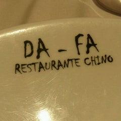 Photo taken at Restaurante Chino DaFa by Nansky G. on 3/8/2012