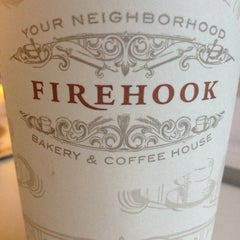 Photo taken at Firehook Bakery and Coffee House by Line S. on 3/22/2012