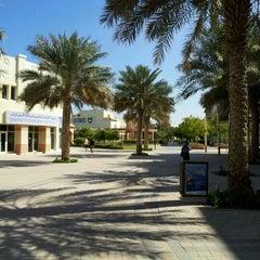 Photo taken at Knowledge Village قرية المعرفة by Kayode M. on 3/8/2012