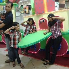 Photo taken at AEON Bukit Raja Shopping Centre by Ezan H. on 9/2/2012