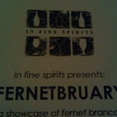Photo taken at In Fine Spirits Lounge by Stephen I. on 2/26/2012