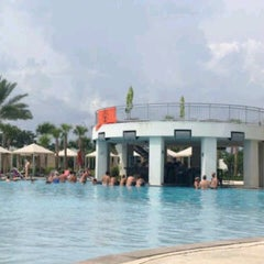 Photo taken at Hard Rock Hotel Pool by Nizami A. on 9/6/2012