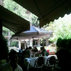 Photo taken at Avra Estiatorio by Vicky W. on 7/21/2012