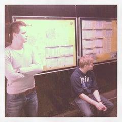 Photo taken at Bushalte Bleekstraat by Alexander B. on 4/20/2012