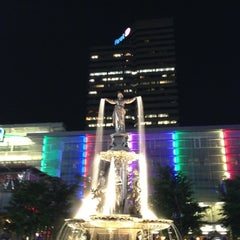 Photo taken at Fountain Square by Bill H. on 5/3/2012