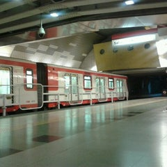 Photo taken at Metro Los Dominicos by Bastian G. on 8/14/2012